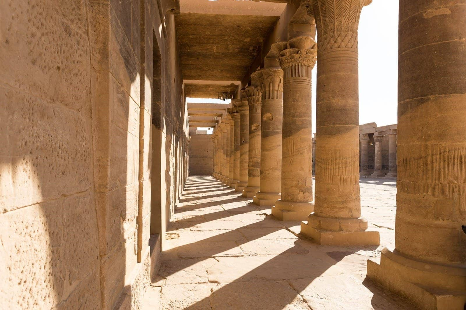 Temple complex of Philae Agilkia Island Egypt