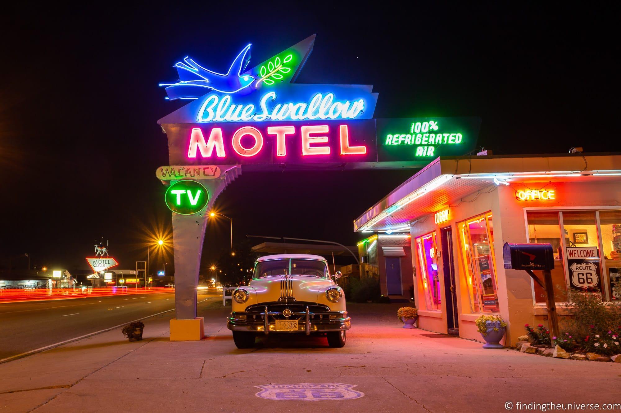Blue Swallow Motel Route 66