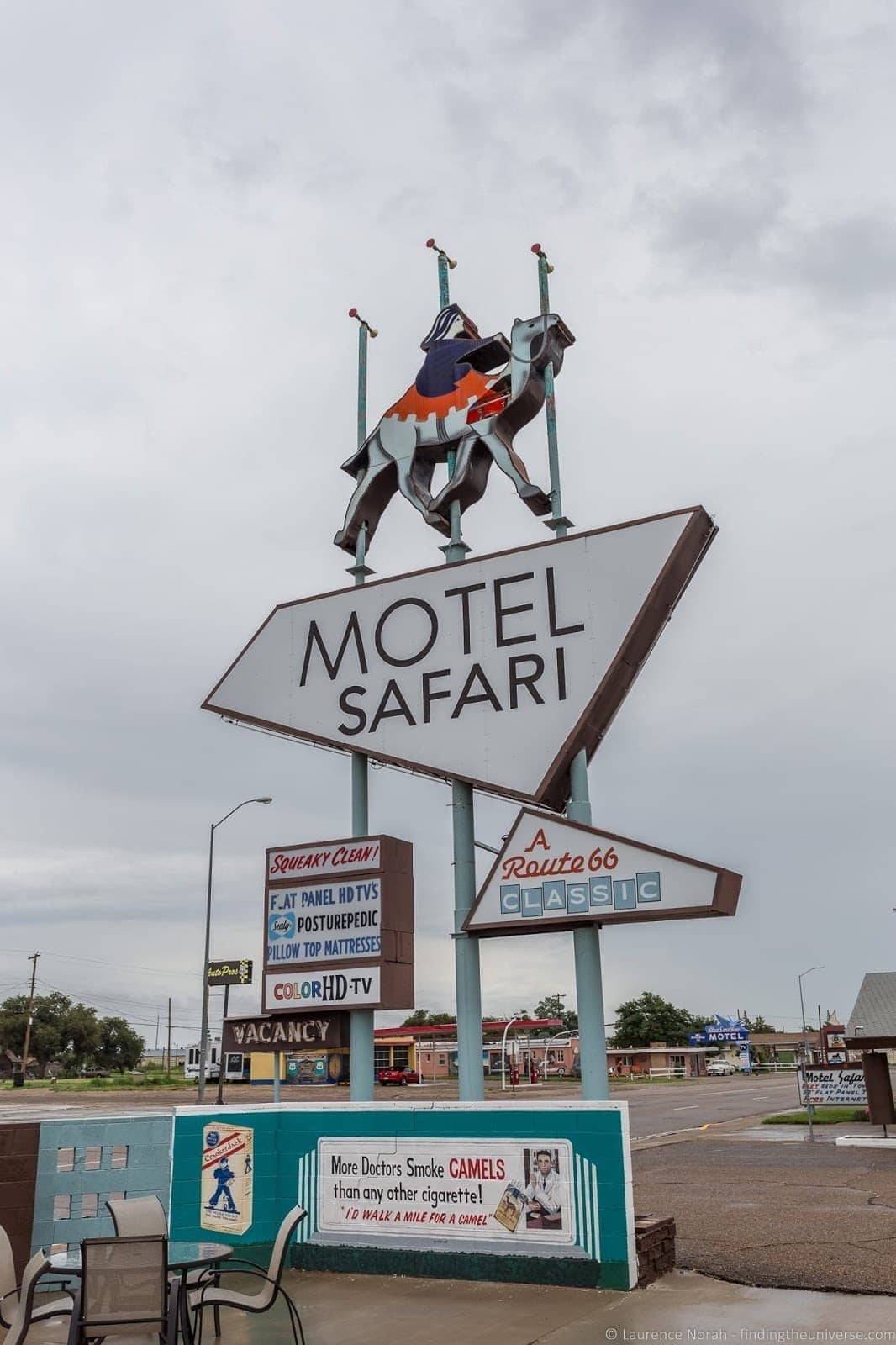 Motel Safari Route 66 New Mexico