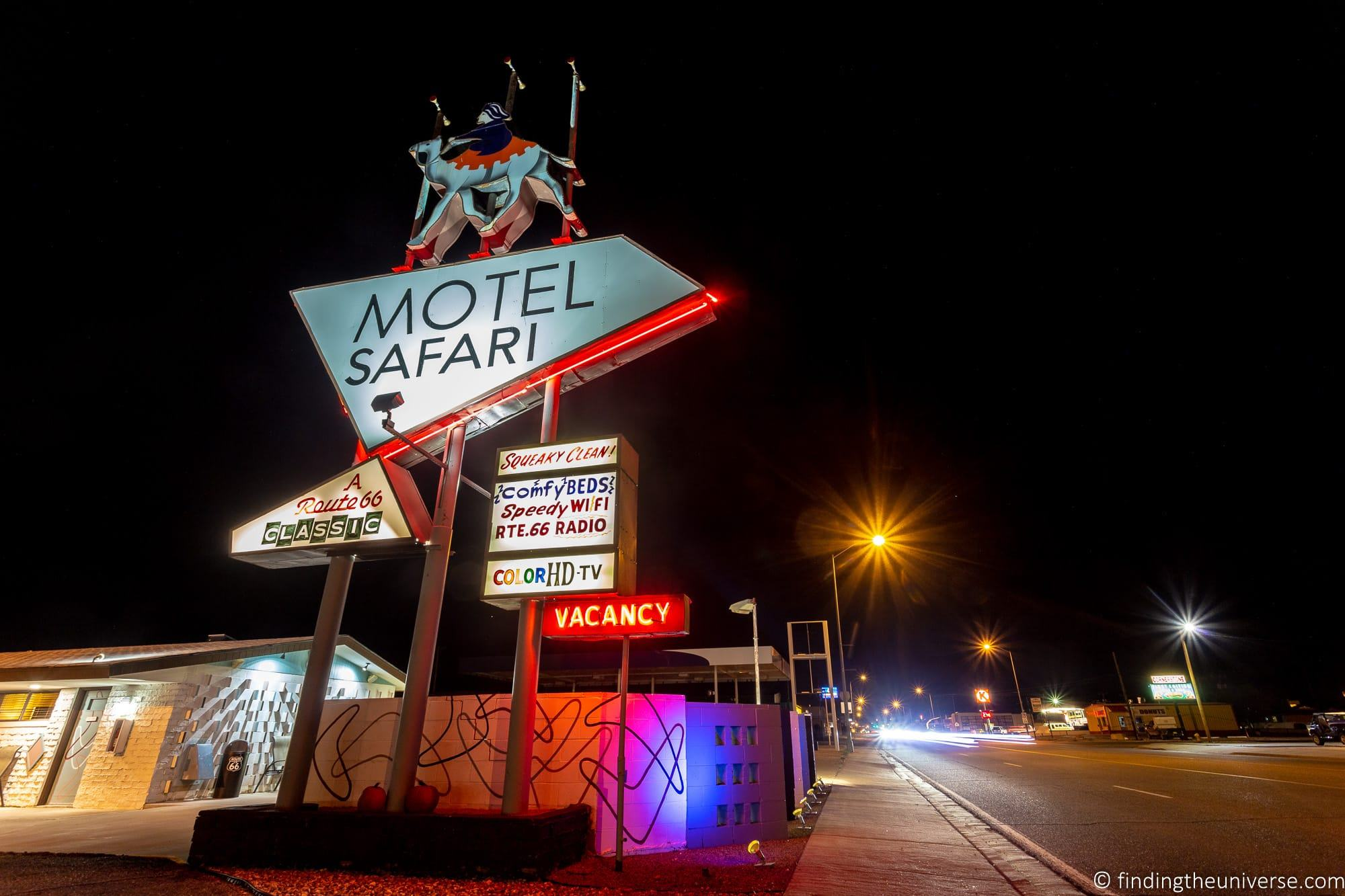 Motel Safari Route 66