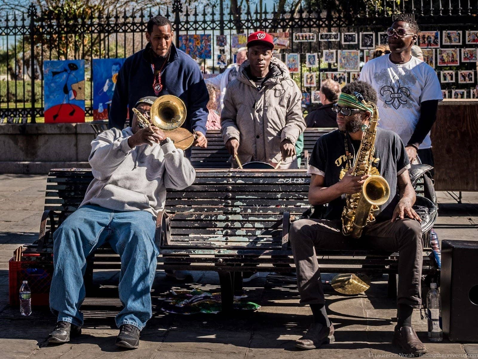Music performers New Orleans