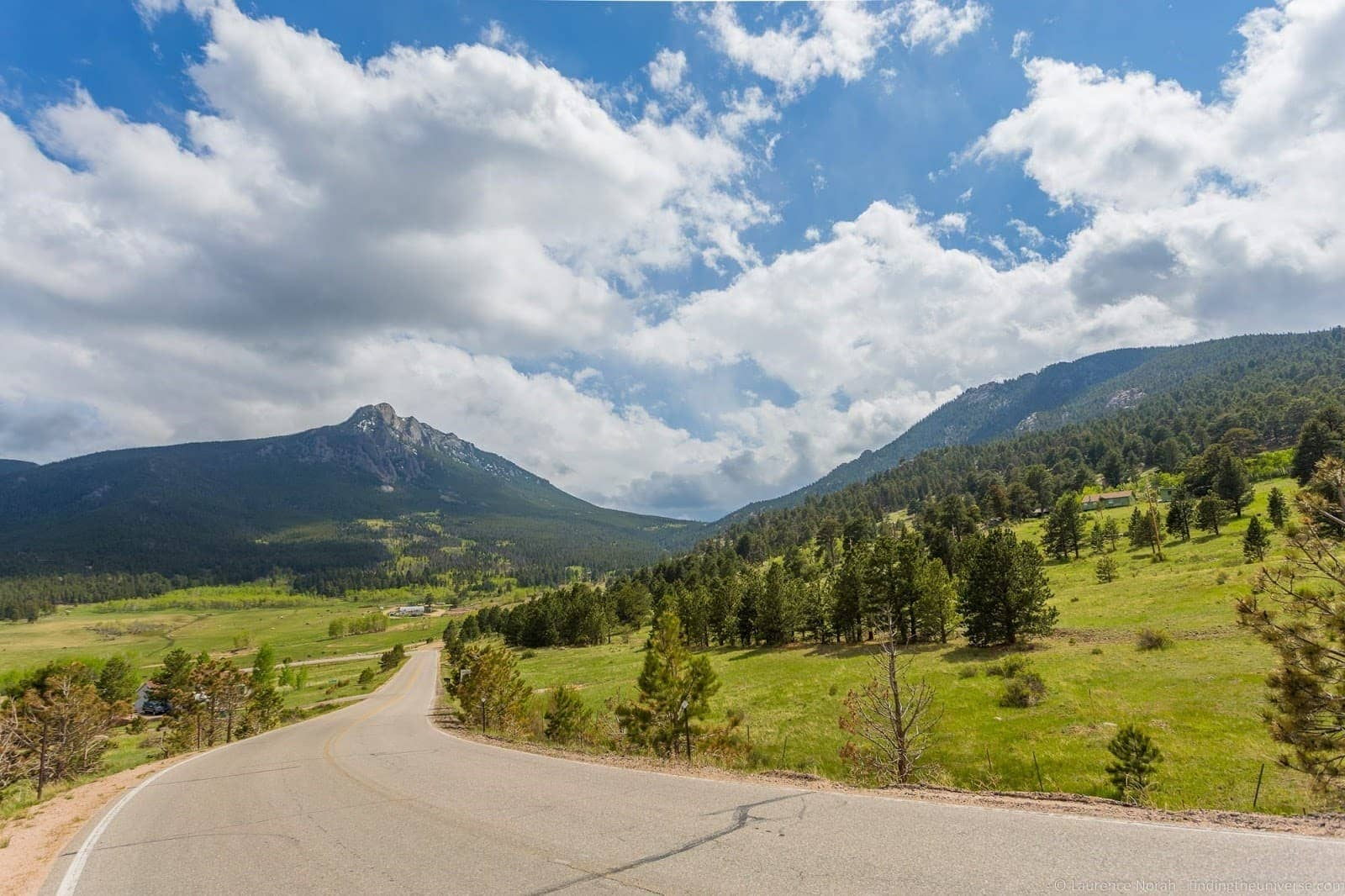 Fish Creek Way Road Estes Park