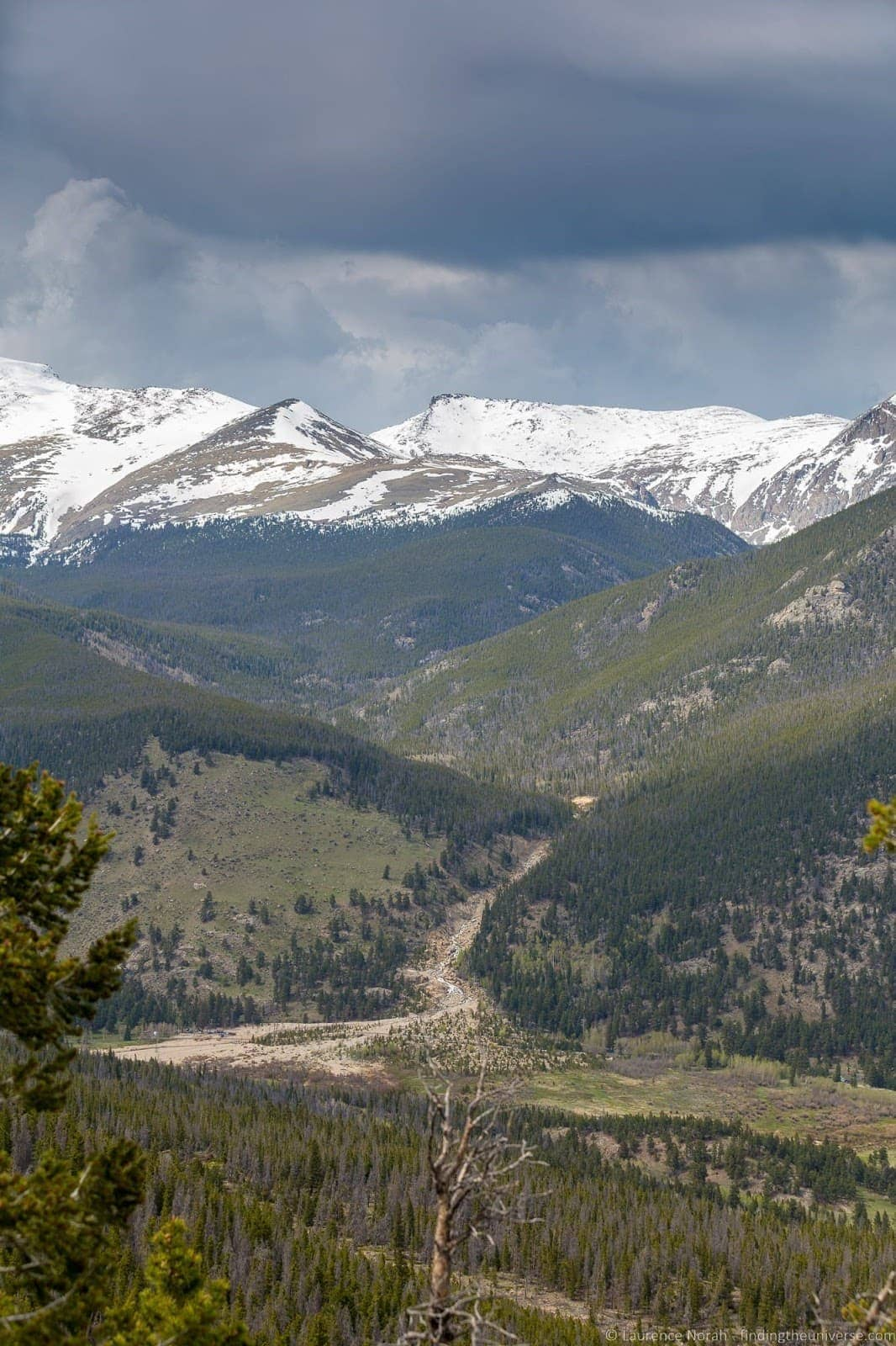 Rocky Mountain National Park May Parks Curve Overlook