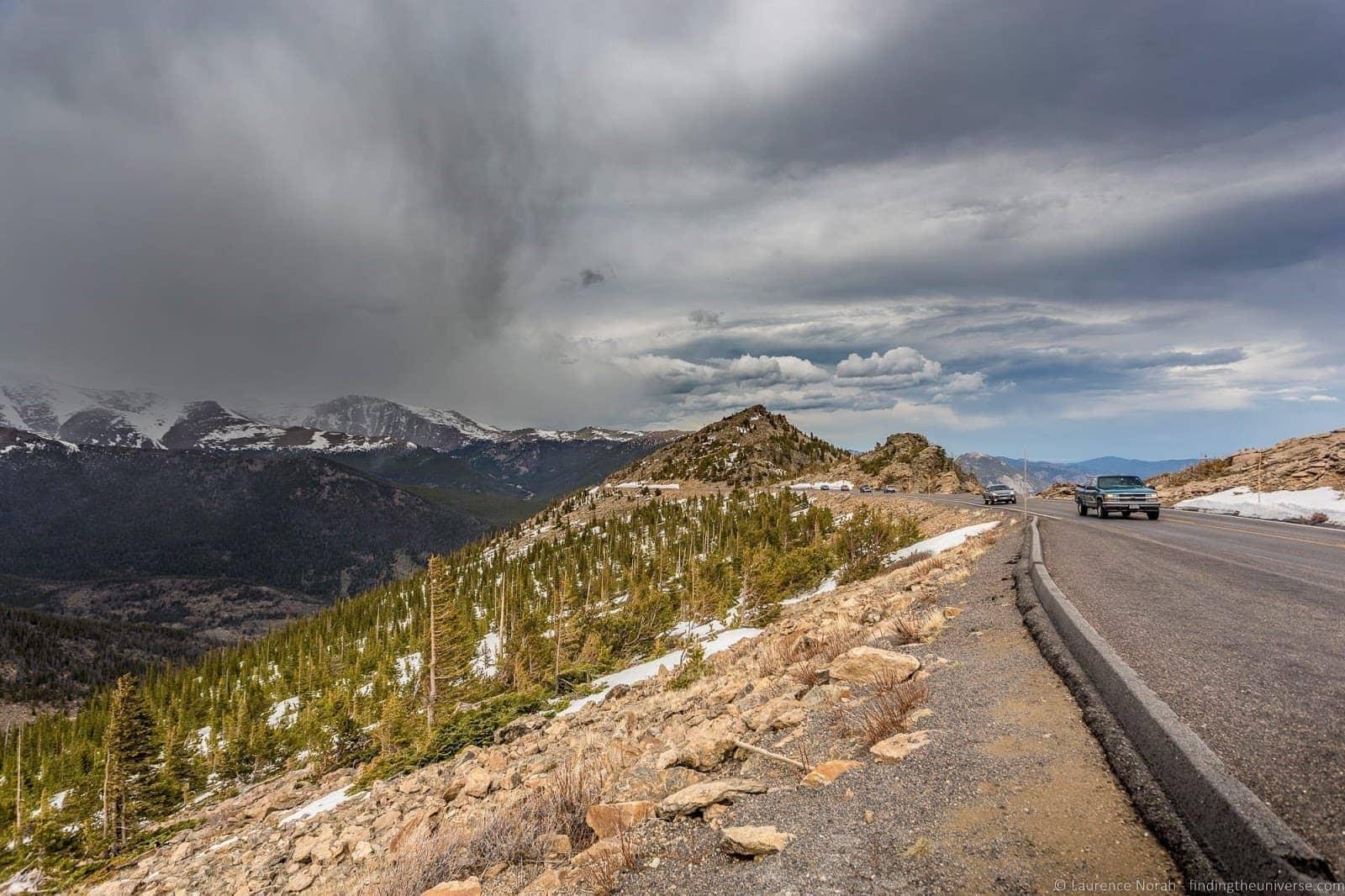 Rocky Mountain National Park Trail Ridge Road
