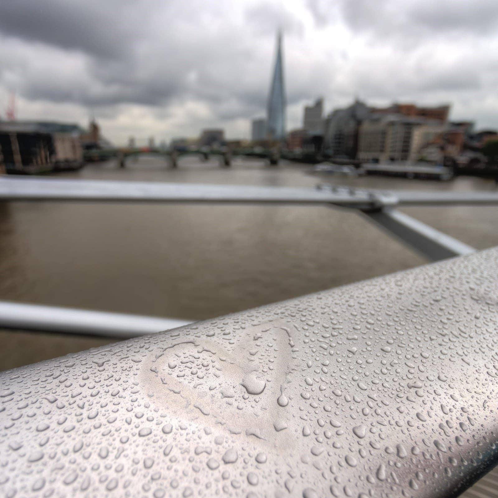 London from millenuim bridge