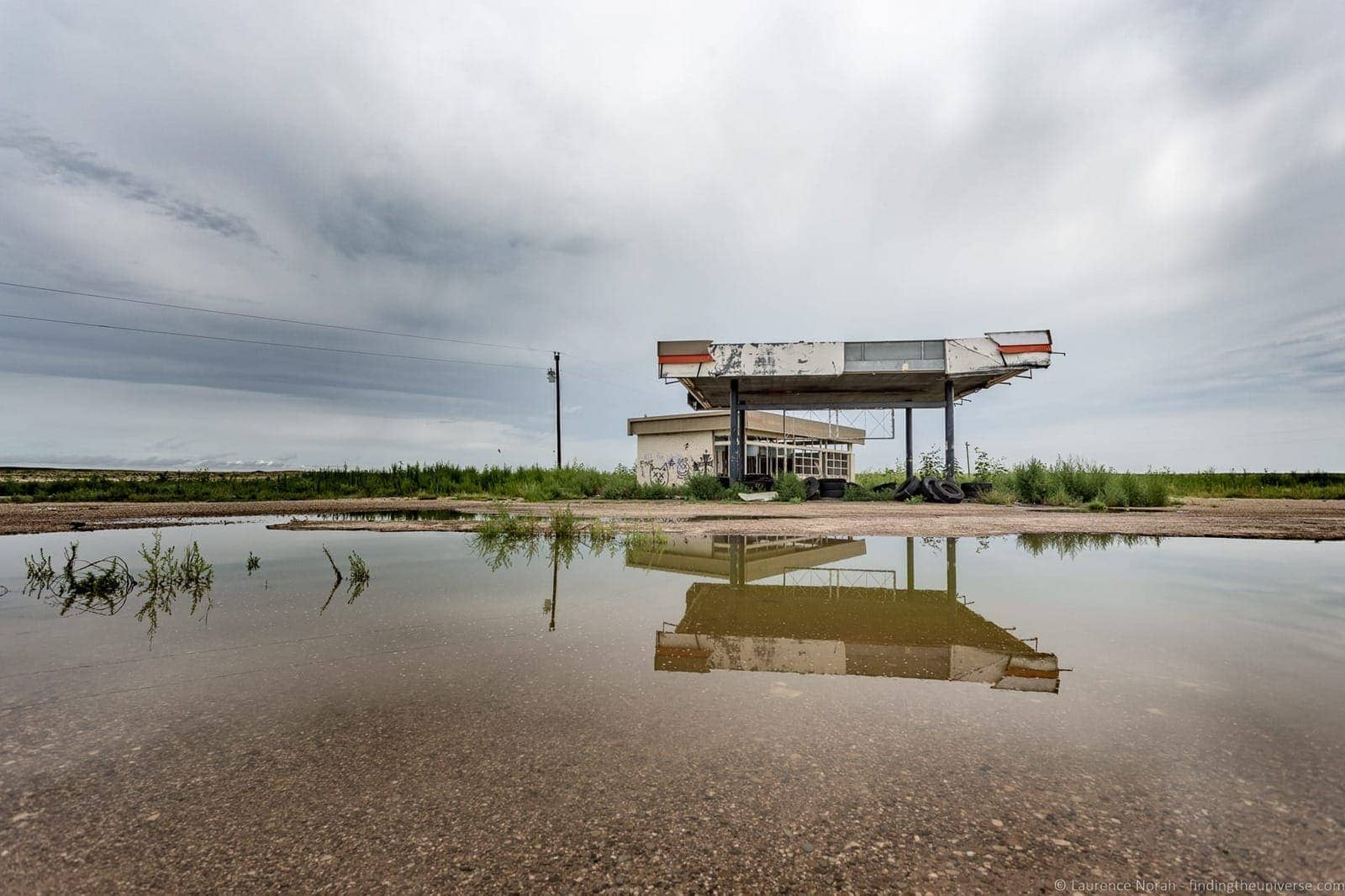 Route 66 Texas Abandoned Gas Station