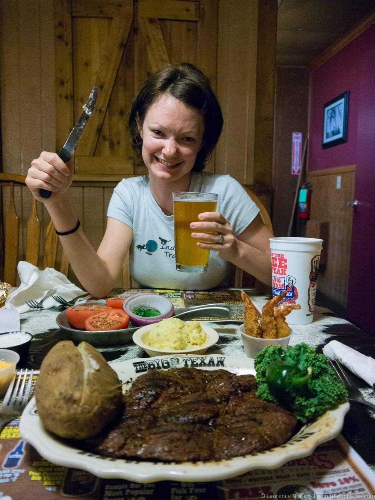 Route 66 Texas Big Texan Steakhouse