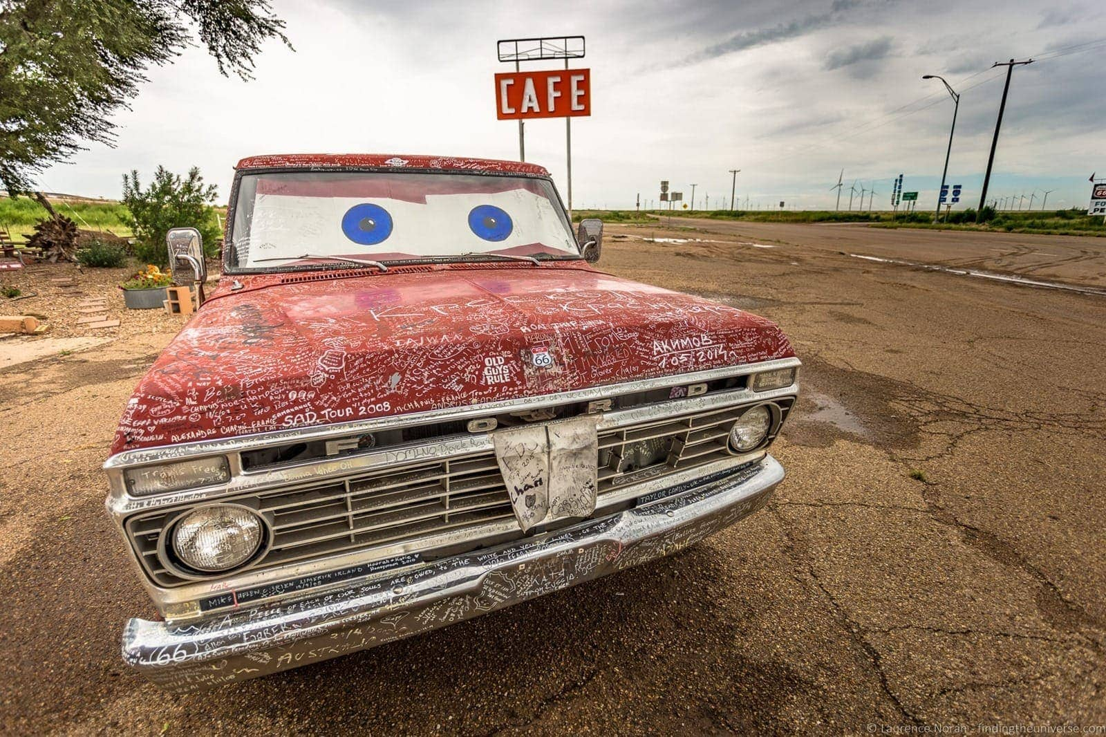 Route 66 Texas Midpoint