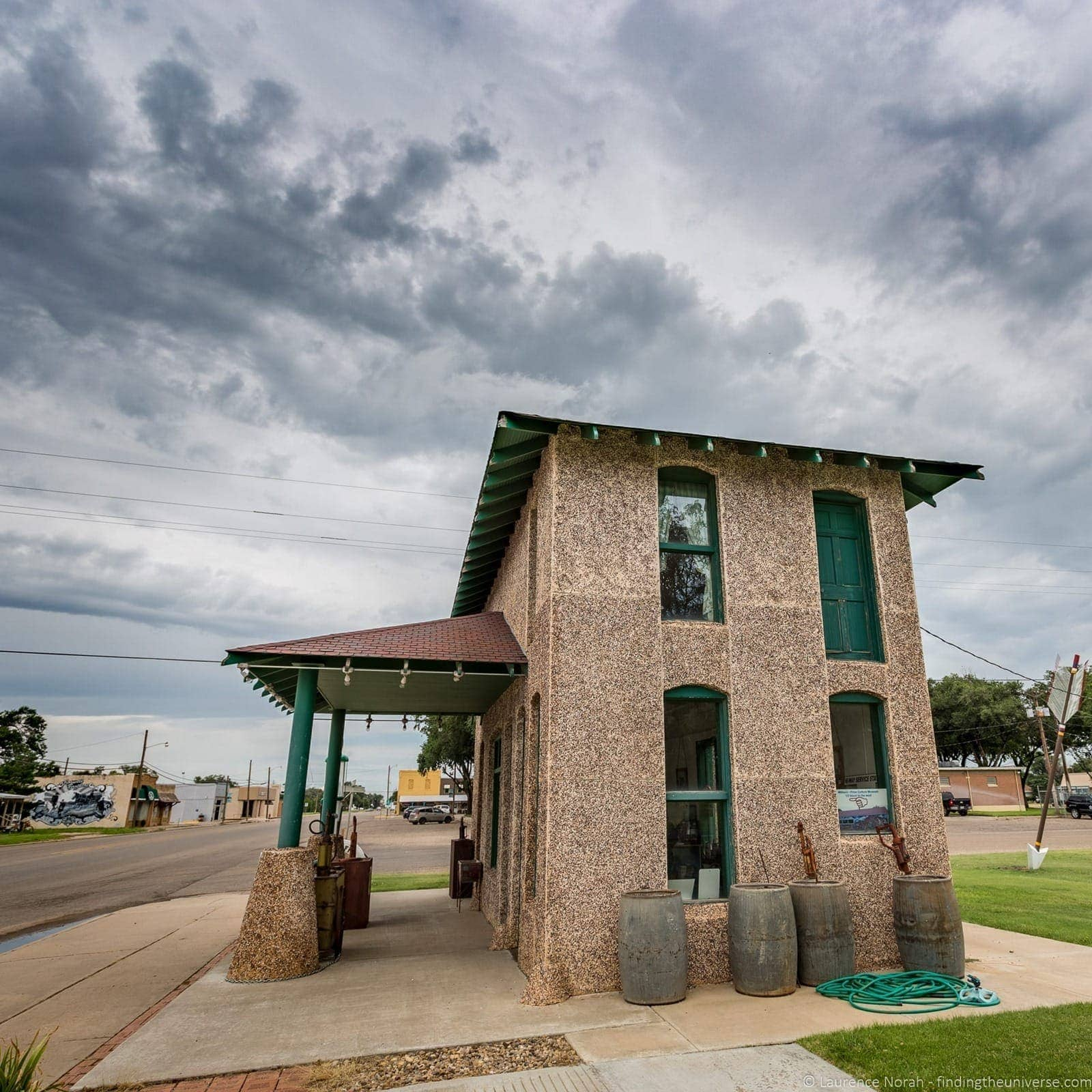 Route 66 Texas Vega Restored Gas Station