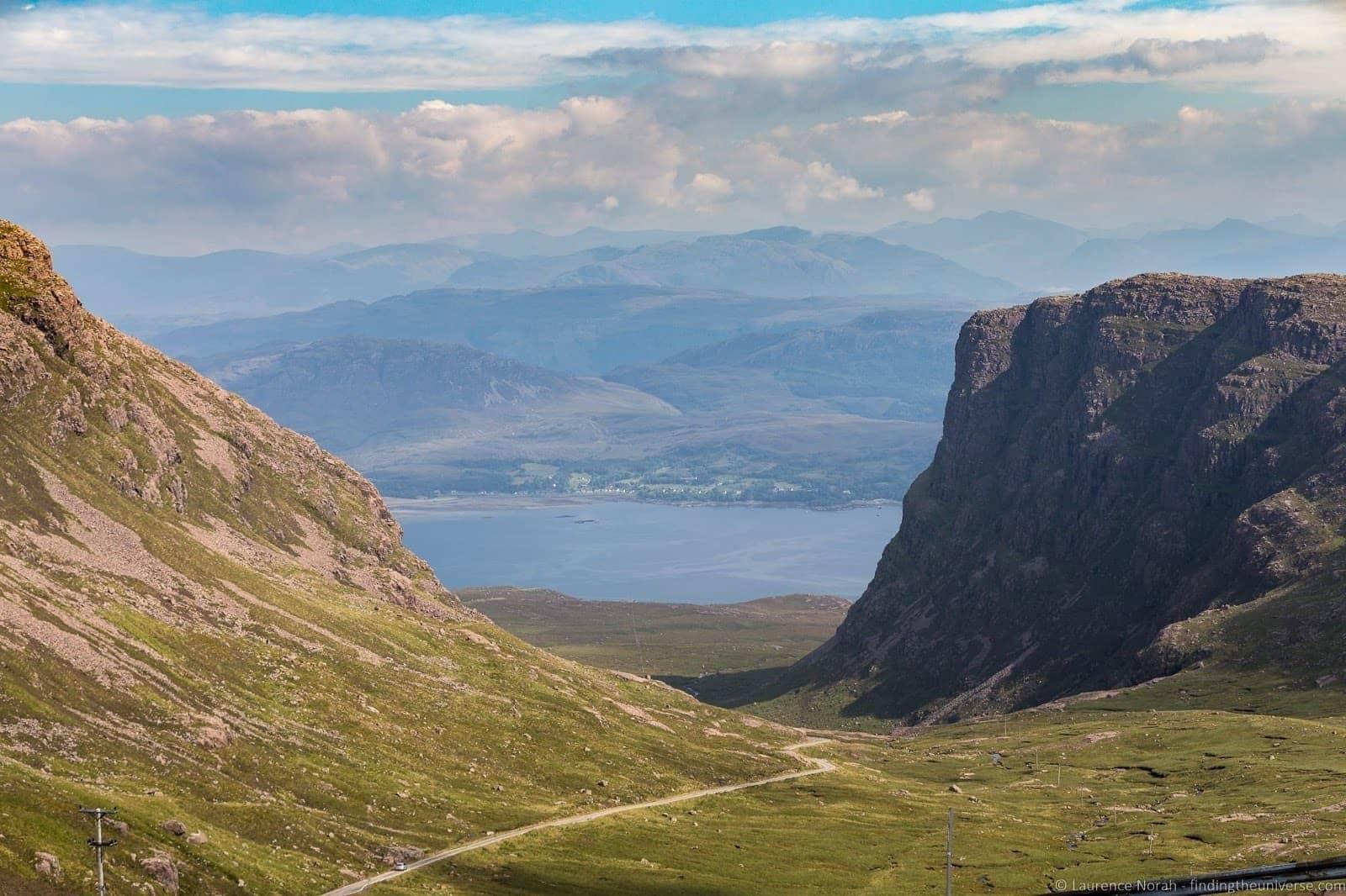 Bealach na Bà road Scotland