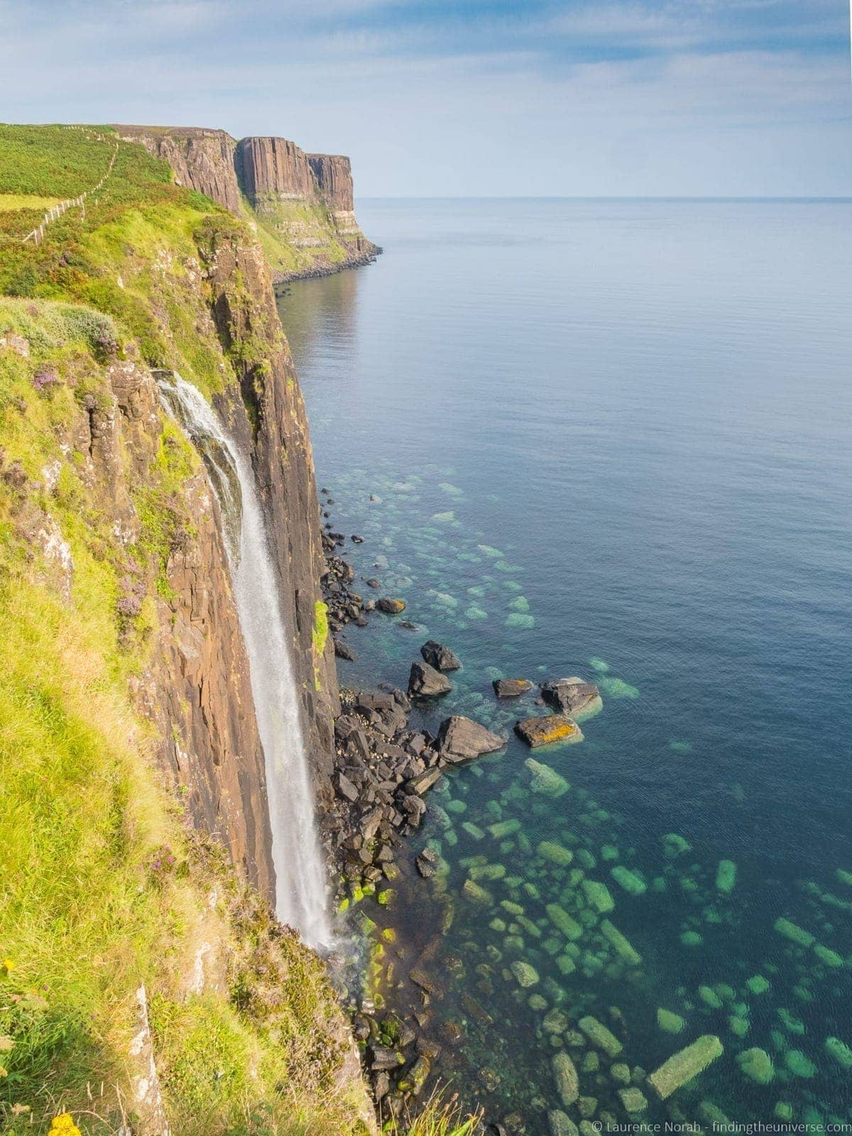 Kilt Rock and Falls Skye