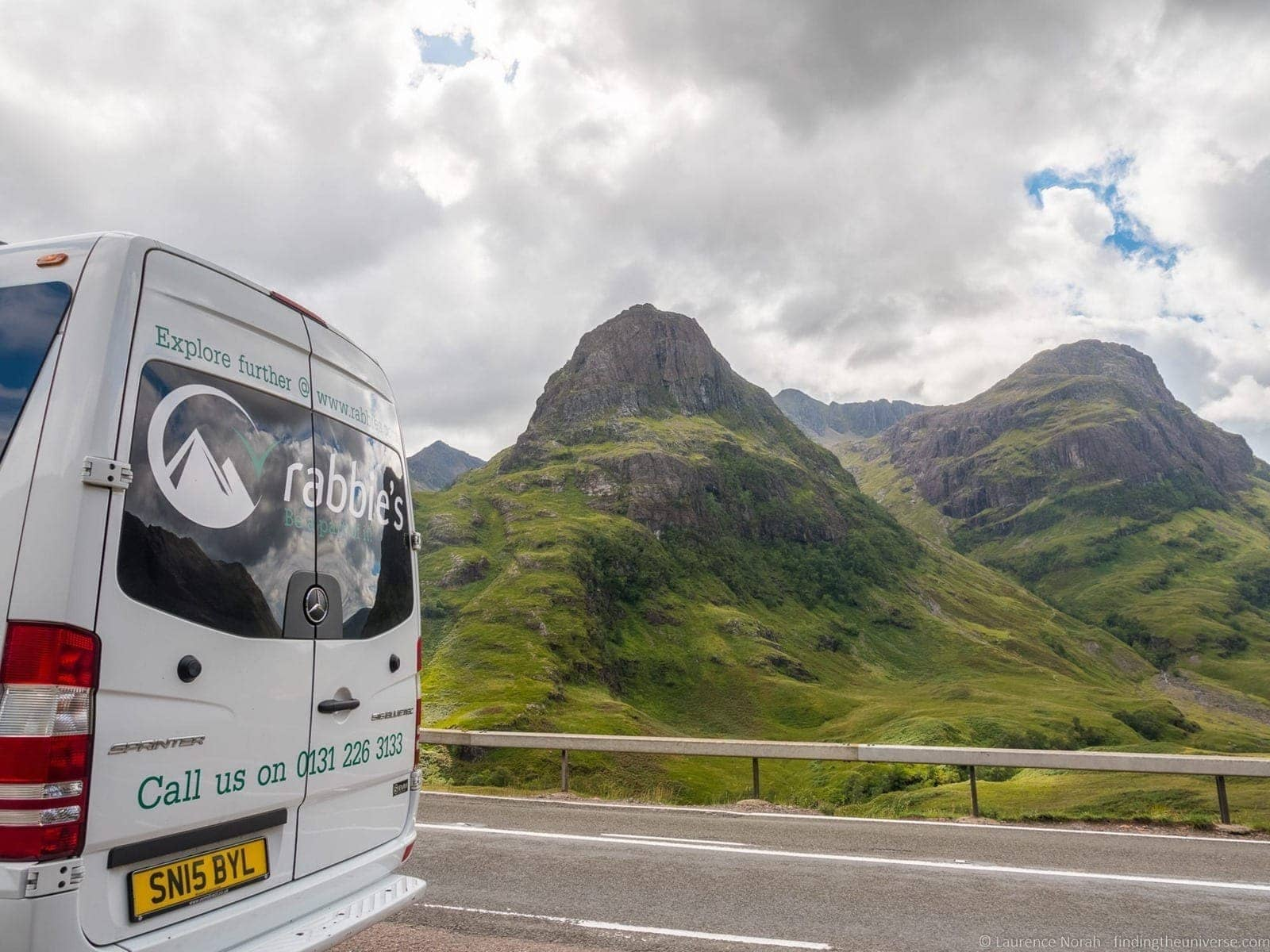 Rabbies bus two sisters glencoe