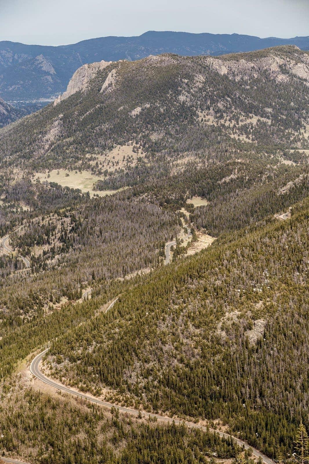 Mountain road Colorado