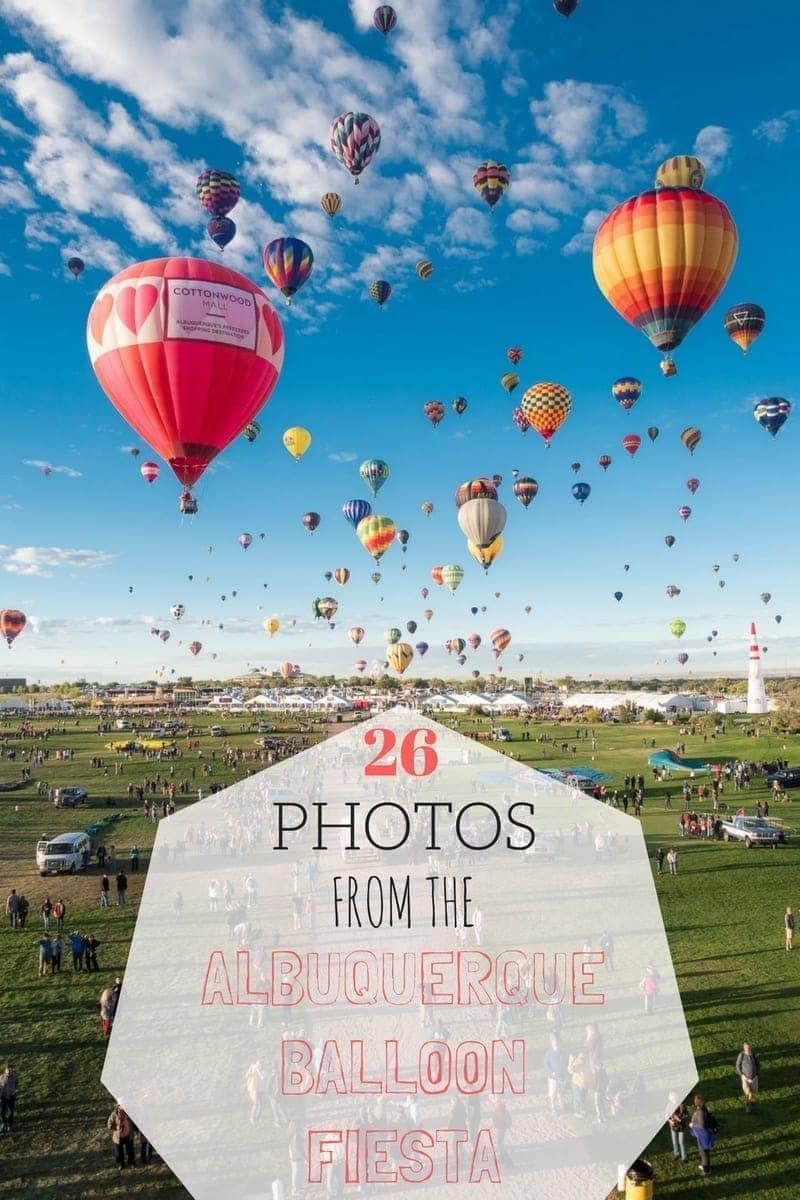 Photo Essay about the Albuquerque International Balloon Fiesta
