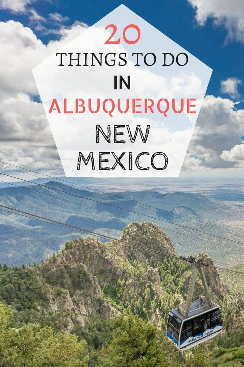 20 Of My Favourite Things to Do in Albuquerque New Mexico, from eating Green Chile to festivals, craft beer and more! A must-read for planning your trip to Albuquerque