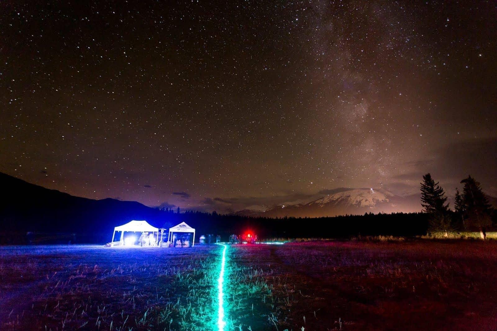 Dark Sky Festival Jasper Lake Annette by Laurence Norah