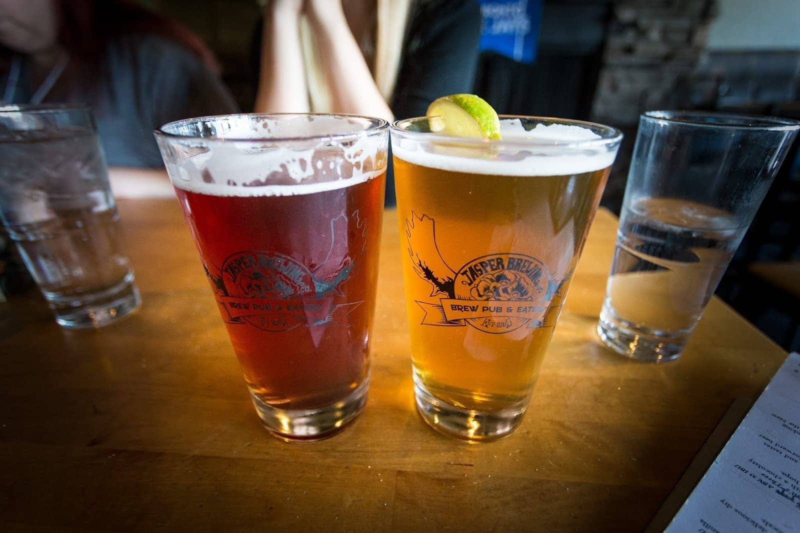 Jasper brewery by Laurence Norah