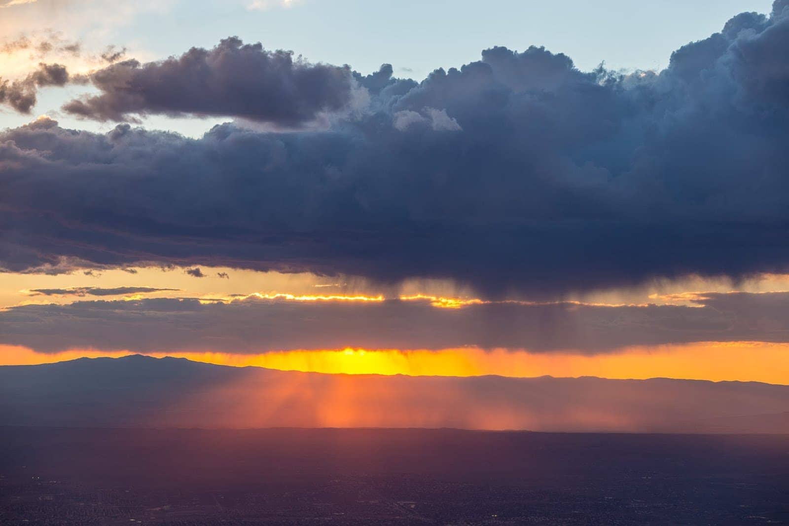 Sandia Peak Sunset Albuquerque New Mexico_by_Laurence Norah-3