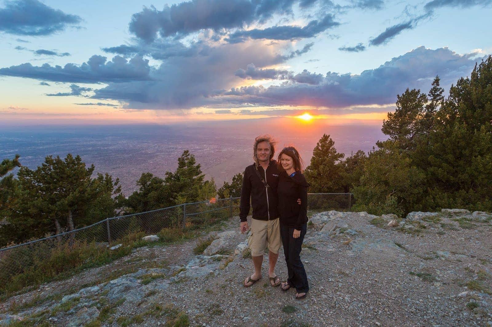Sandia Peak Sunset Albuquerque New Mexico_by_Laurence Norah-4