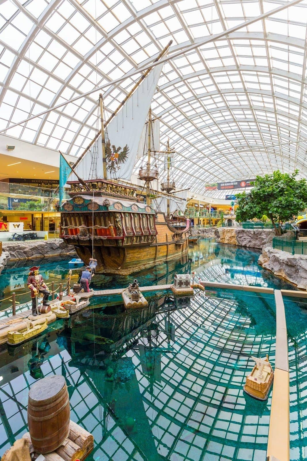 West Edmonton Mall by Laurence Norah