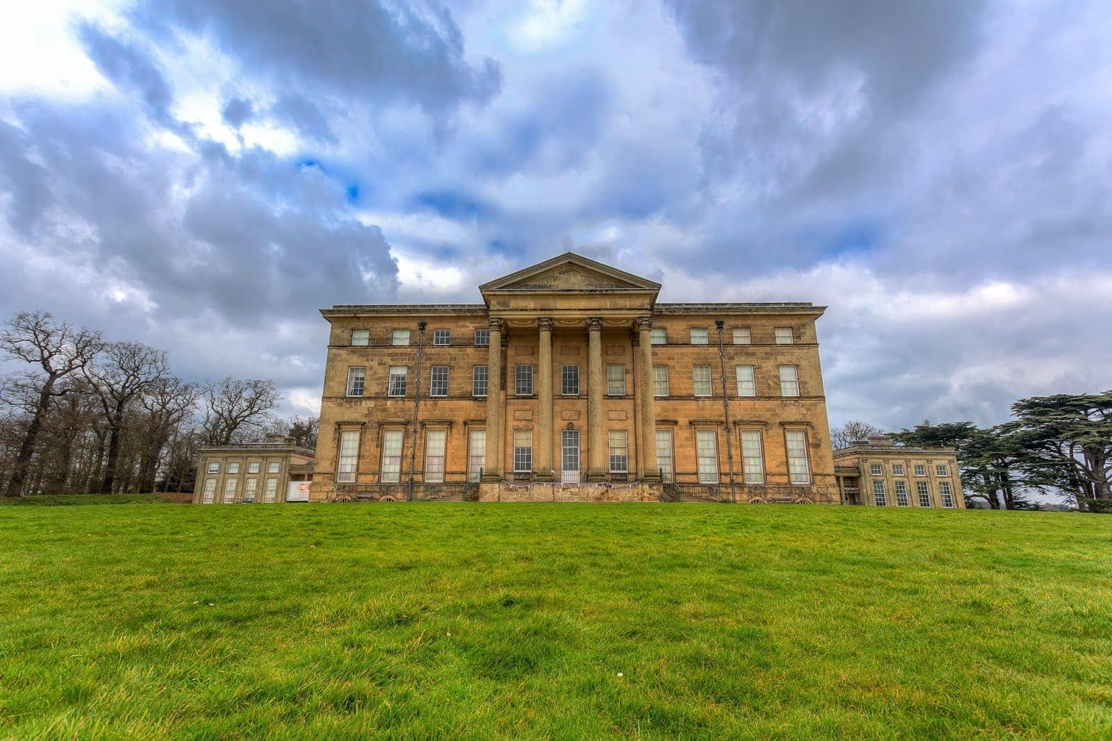 Attingham Hall front view by Laurence Norah