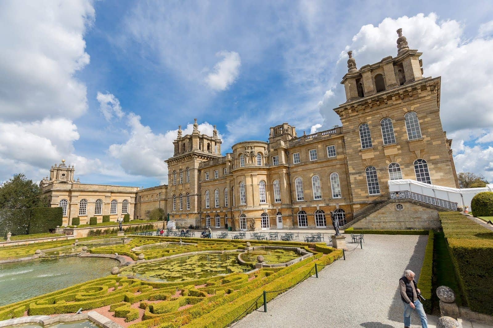 Stately Homes In England Blenheim Palace By Laurence Norah