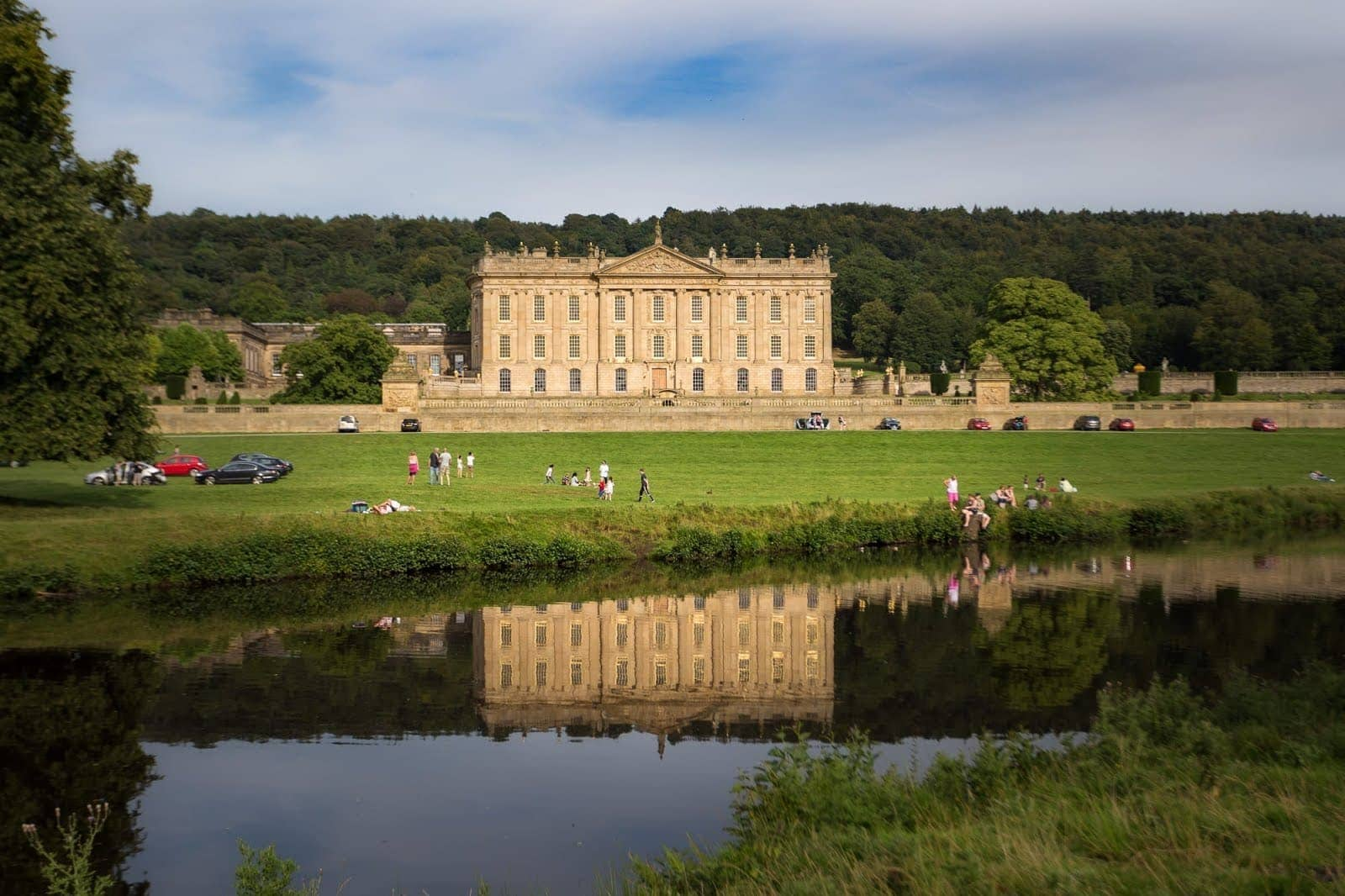 Stately Homes in England - Chatsworth House by Laurence Norah