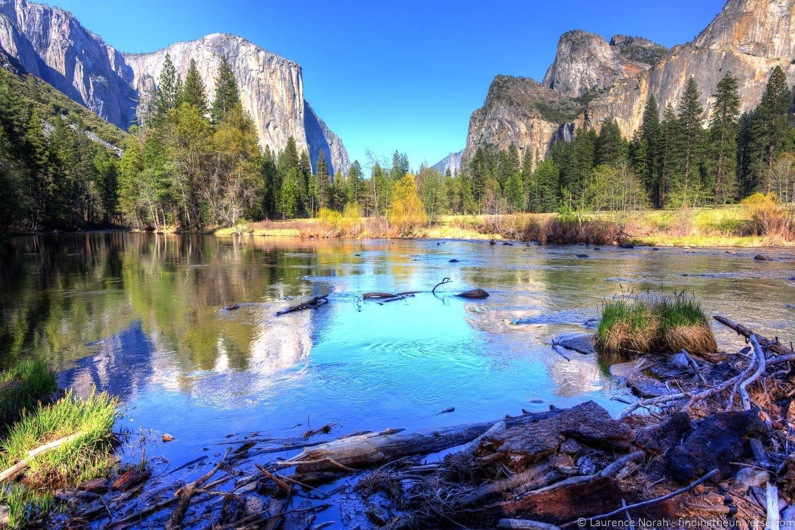 Yosemite view of El Capitan_by_Laurence Norah