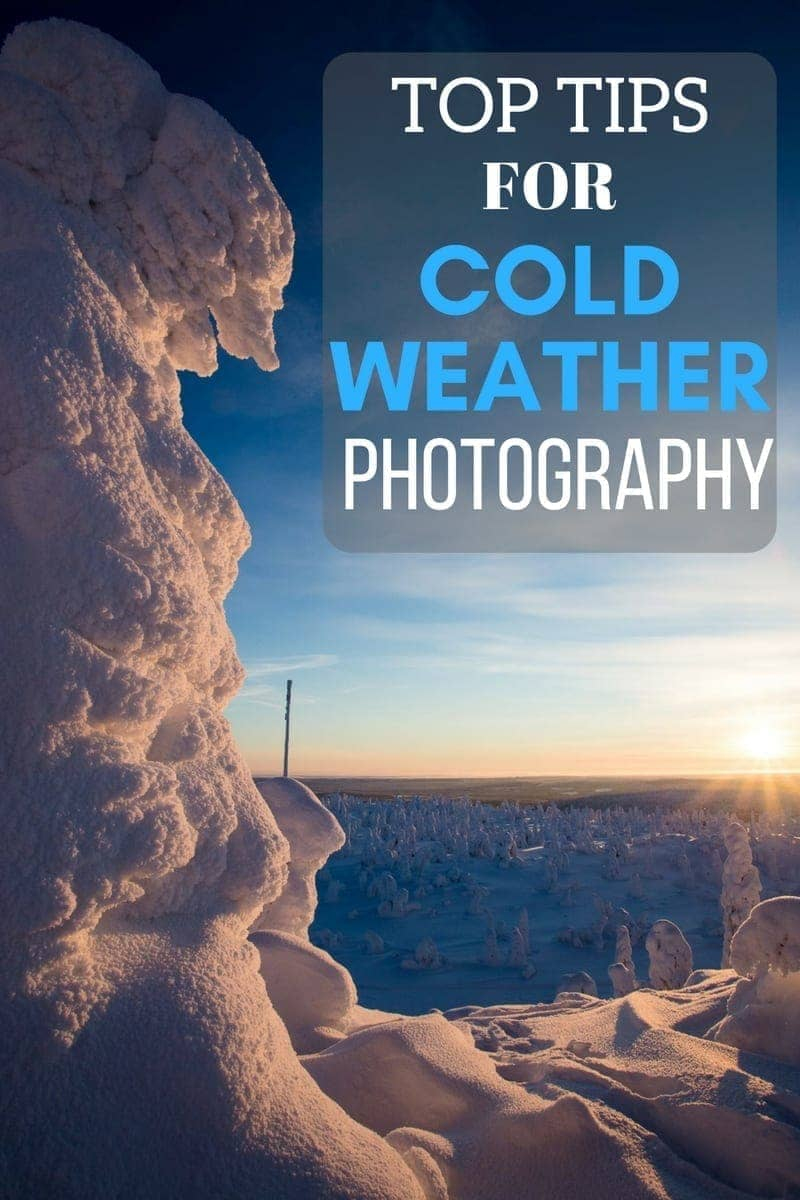 Tips for preparing yourself and your gear for cold weather photography - everything from protecting your camera gear, to some winter photography tips.