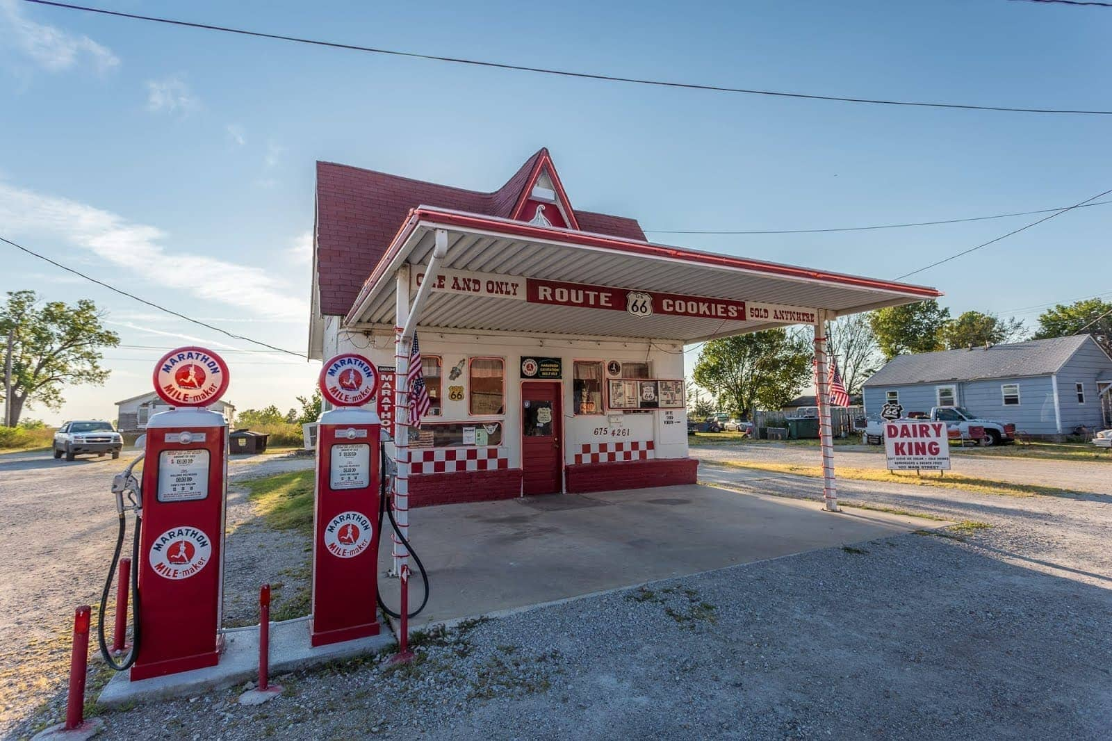 Cookie shop commerce Route 66 Oklahoma_by_Laurence Norah
