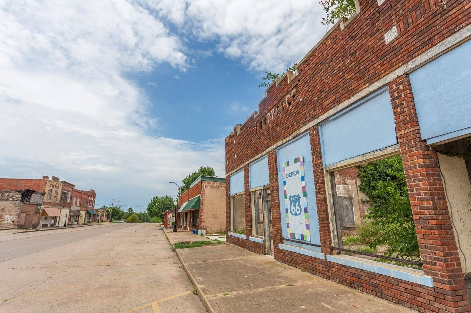 Depew Ghost town Route 66 Oklahoma_by_Laurence Norah-2