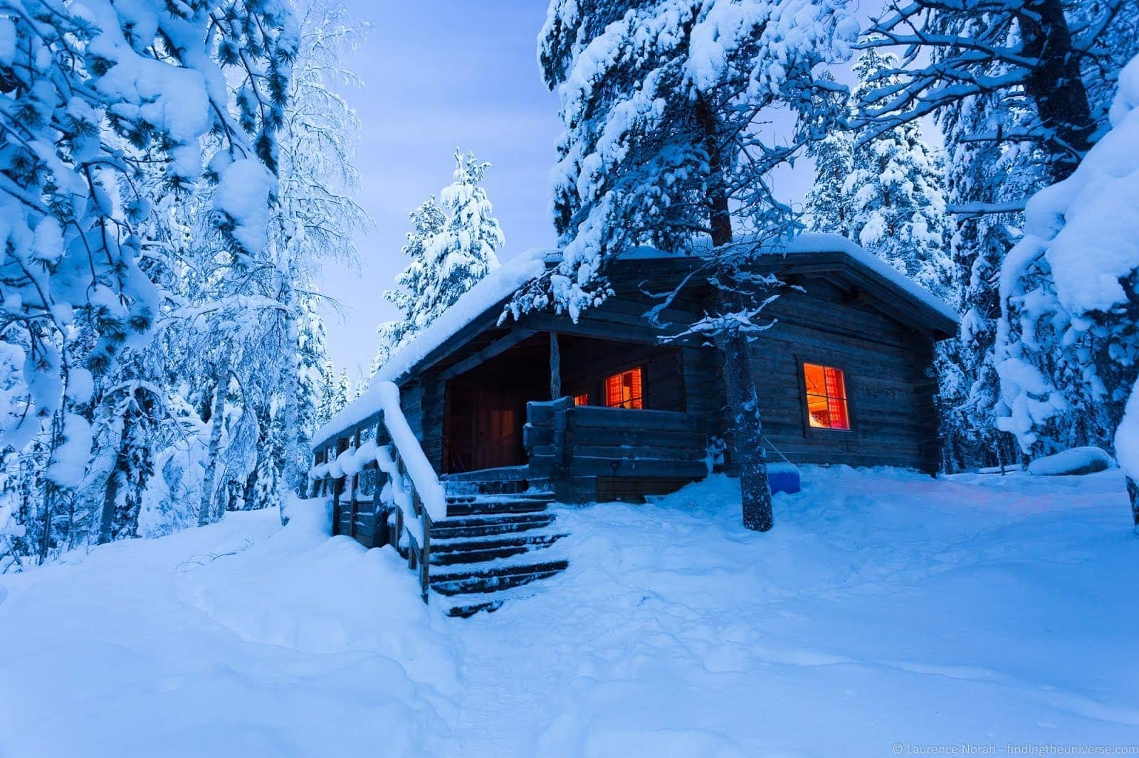 Finland hut_by_Laurence Norah