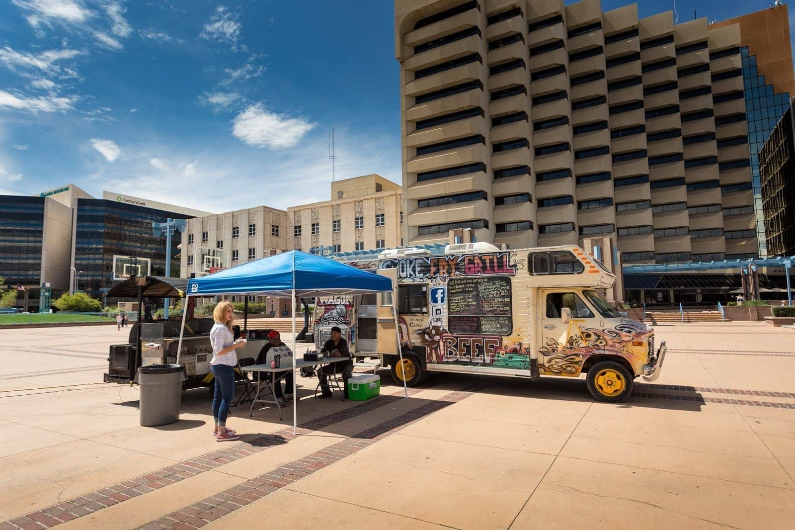 Food Trucks New Mexico by Laurence Norah