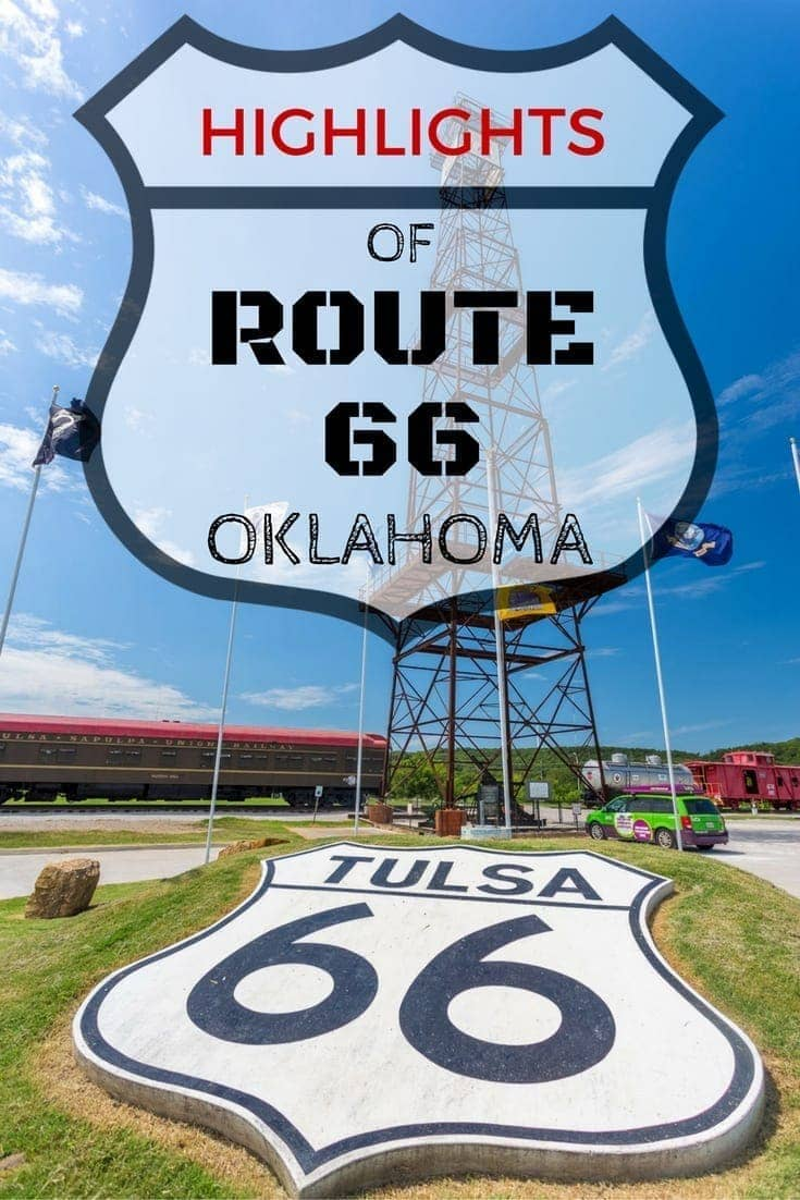 A photo essay featuring the highlights of Route 66 in Oklahoma!