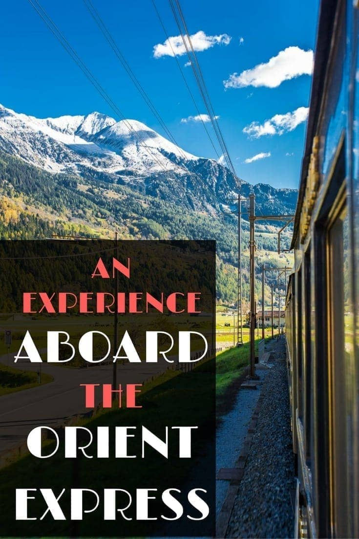 What it's like to ride the modern day luxury Venice Simplon Orient Express train on the classic journey from London to Venice? This post tells you everything!