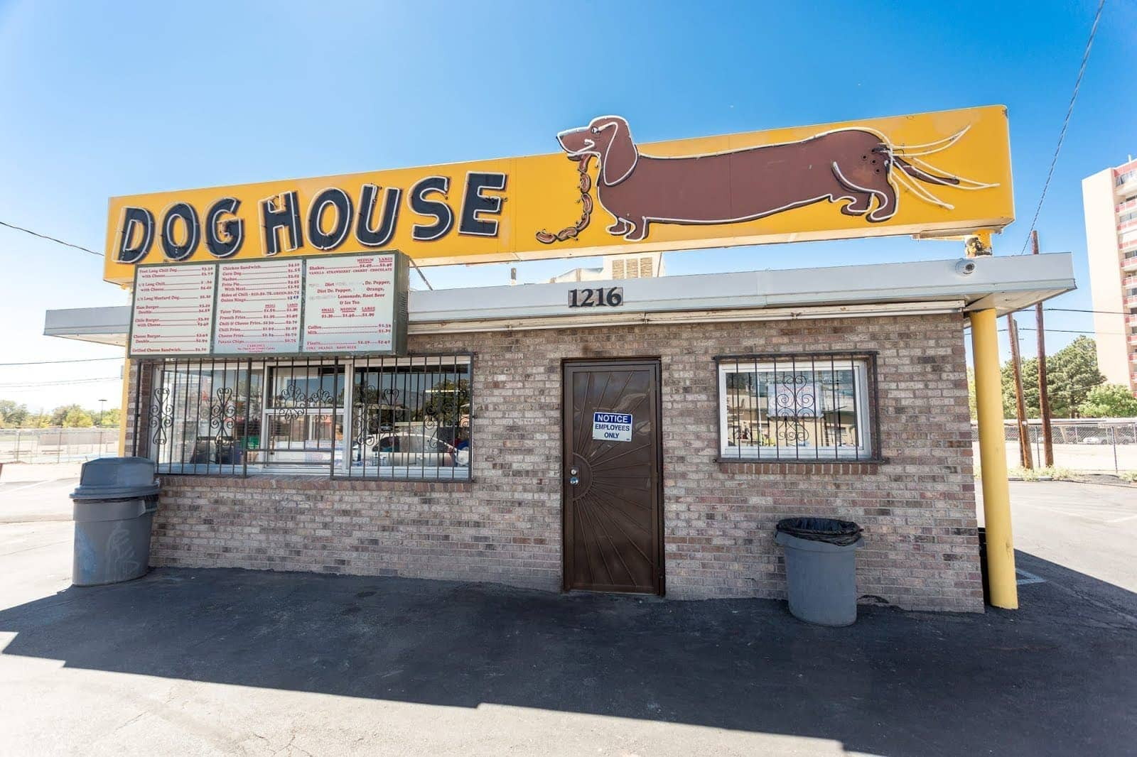 Route 66 Dog House Diner Albuquerque by Laurence Norah