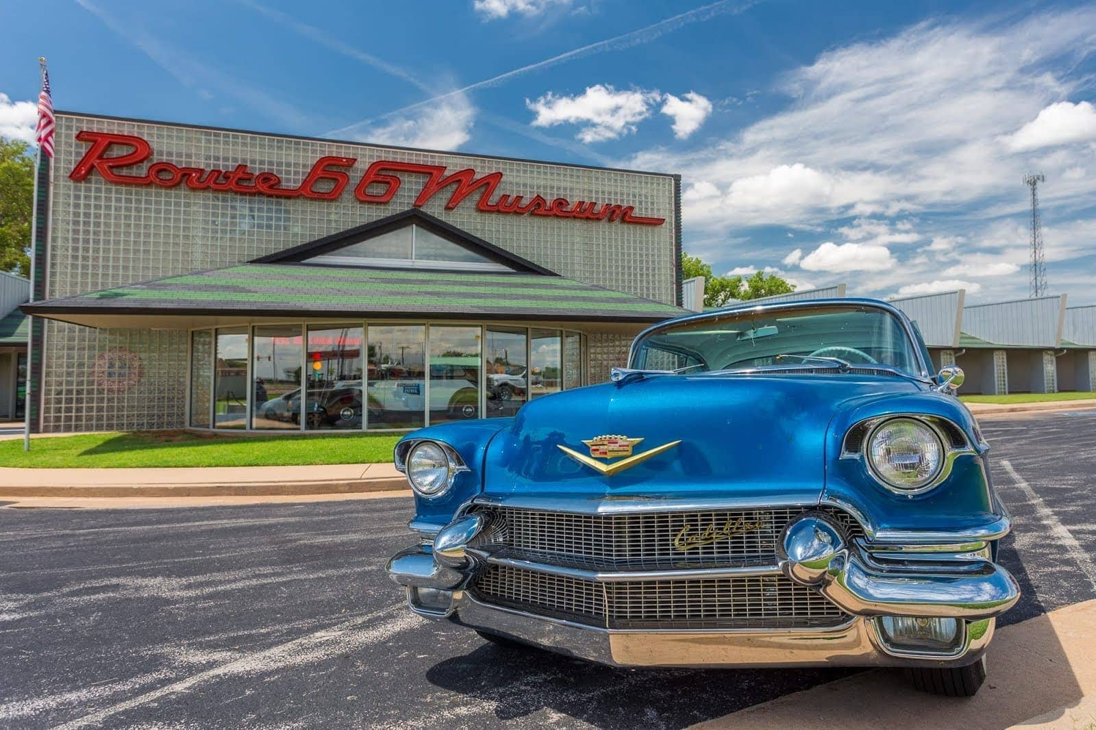 Route 66 Museum Route 66 Oklahoma_by_Laurence Norah-3