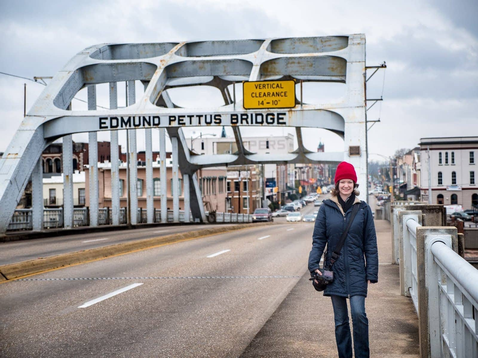 Edmund Pettus Bridge Selma Alabama by Laurence Norah-2