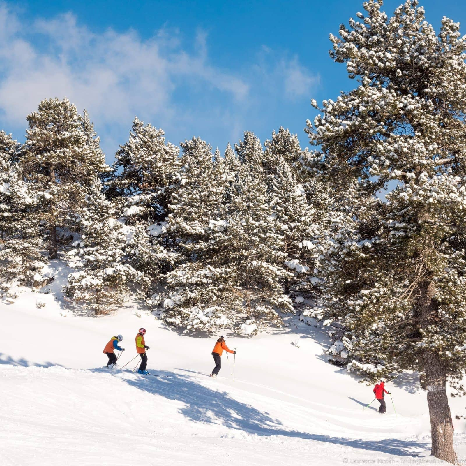 Long Stay Vacations In Spain: Skiing In Spain: The Spanish Pyrenees