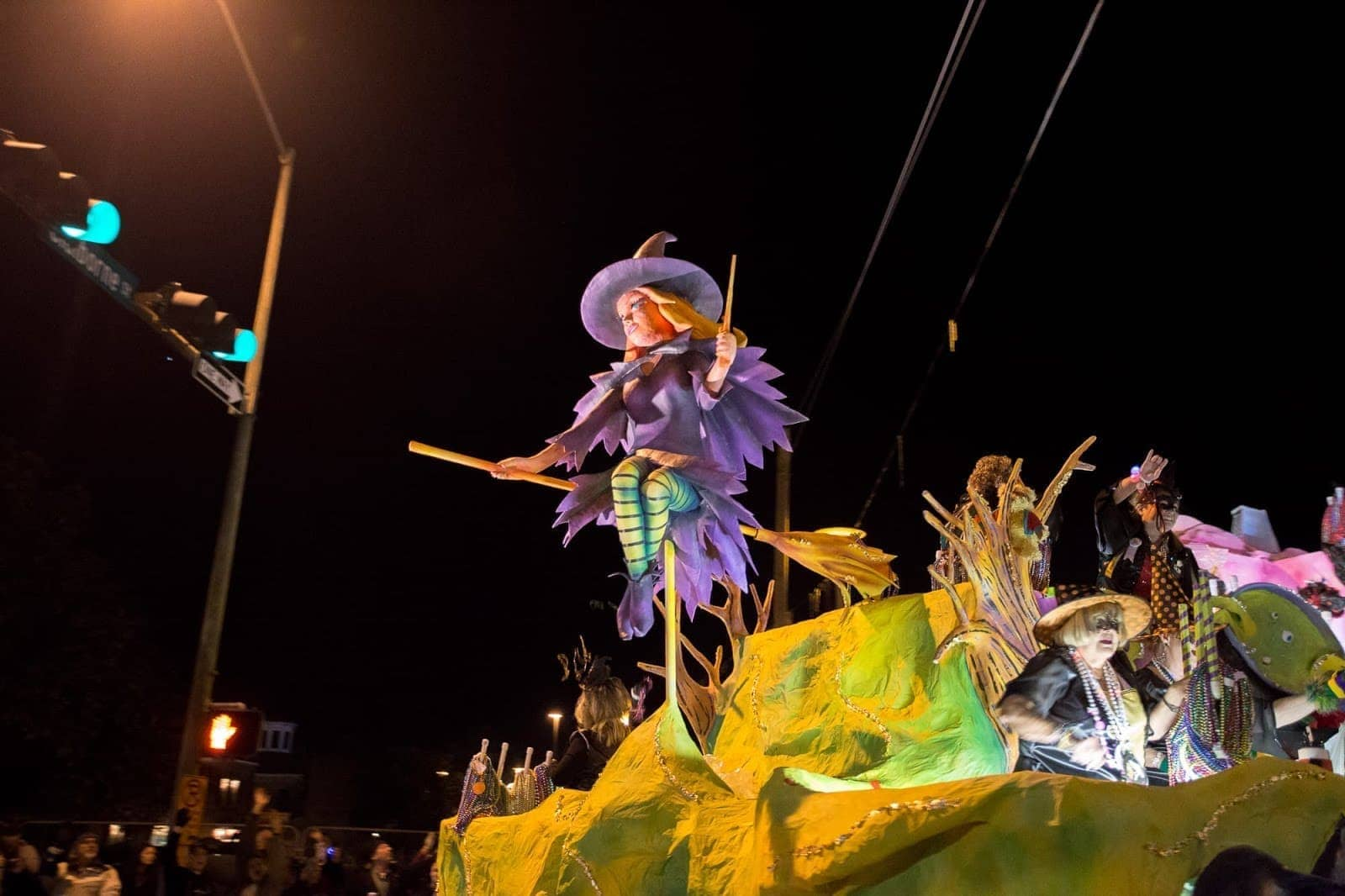 Mardi Gras Mobile by Laurence Norah
