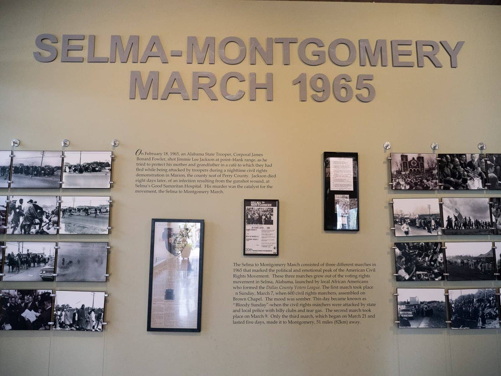 National Civil Rights Museum Alabama by Laurence Norah