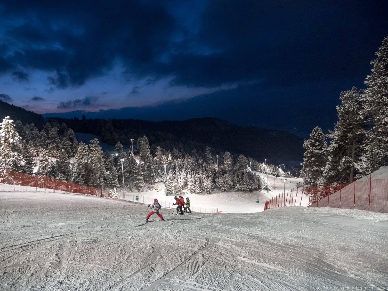 Night skiing La Masella_by_Laurence Norah-3