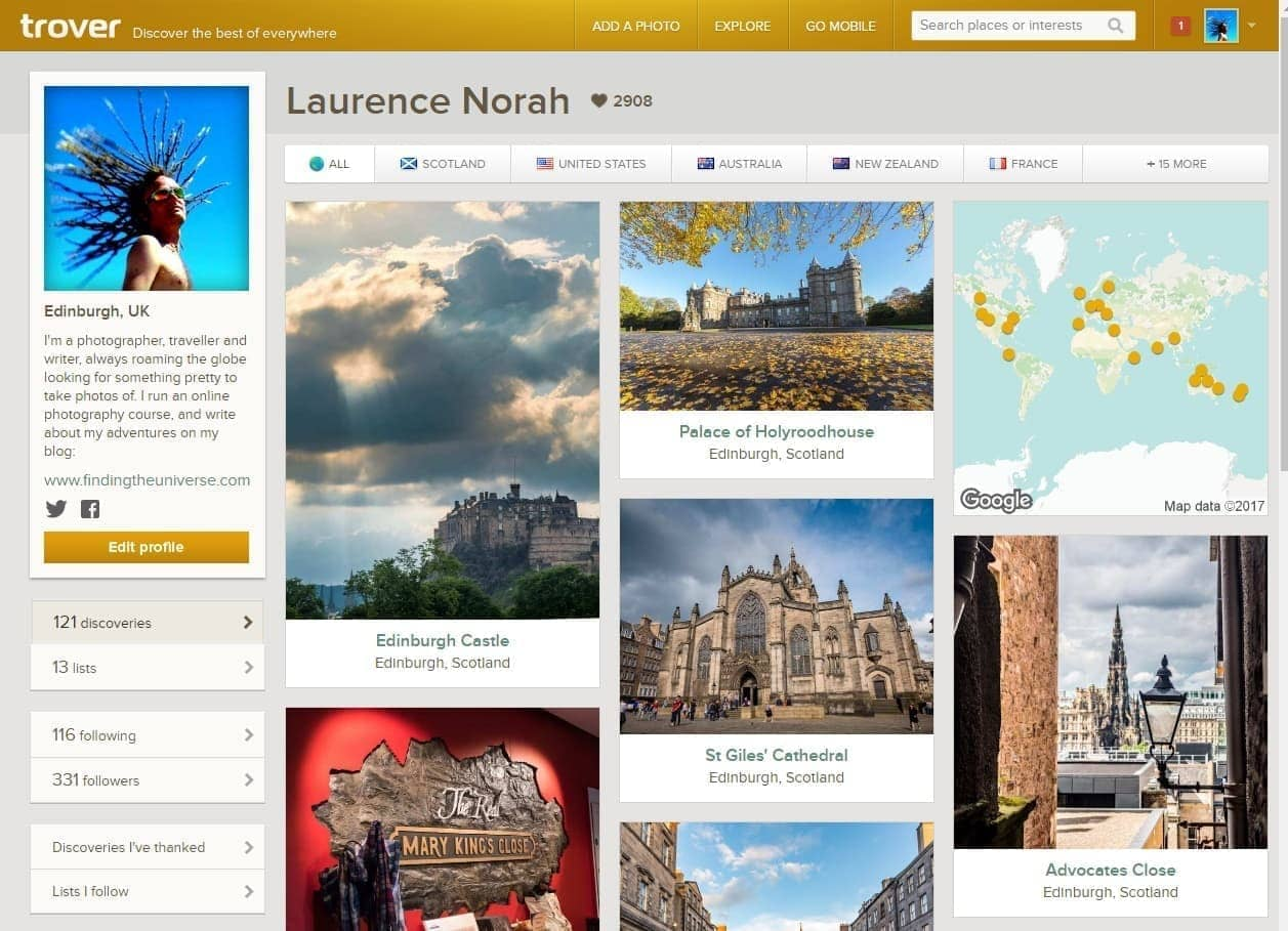 Win A Photography Course and $250 with Trover! - Finding the