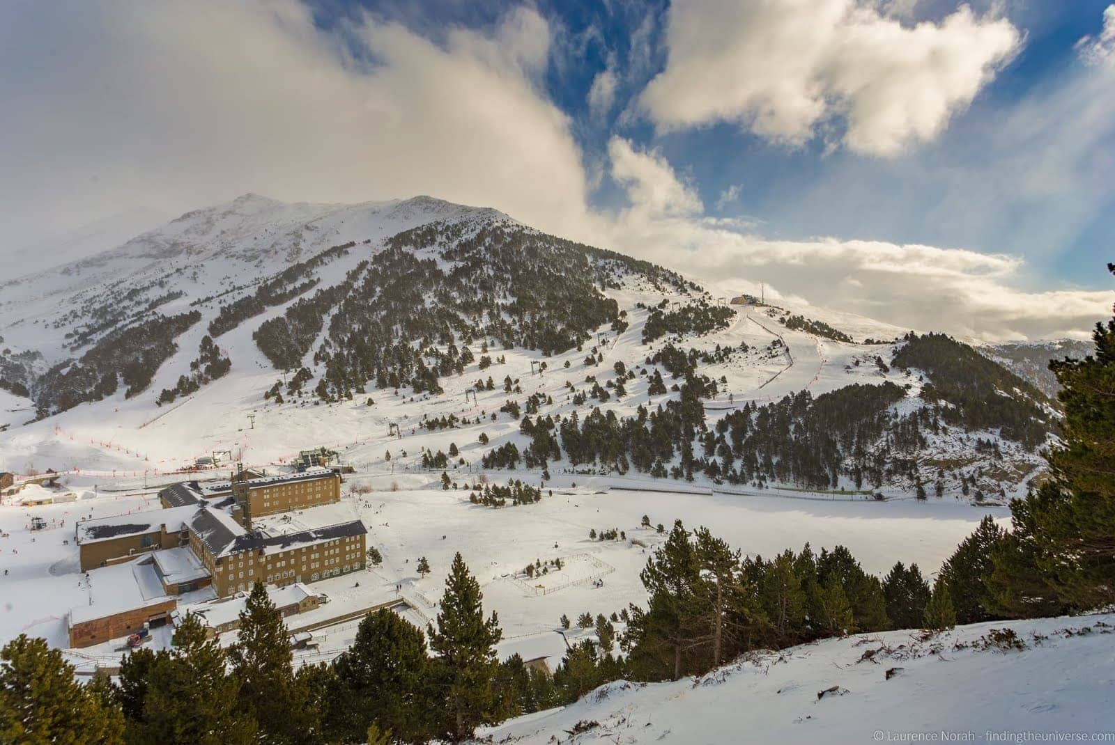 Skiing in Spain - Val de Nuria Ski Resort Pyrenees_by_Laurence Norah