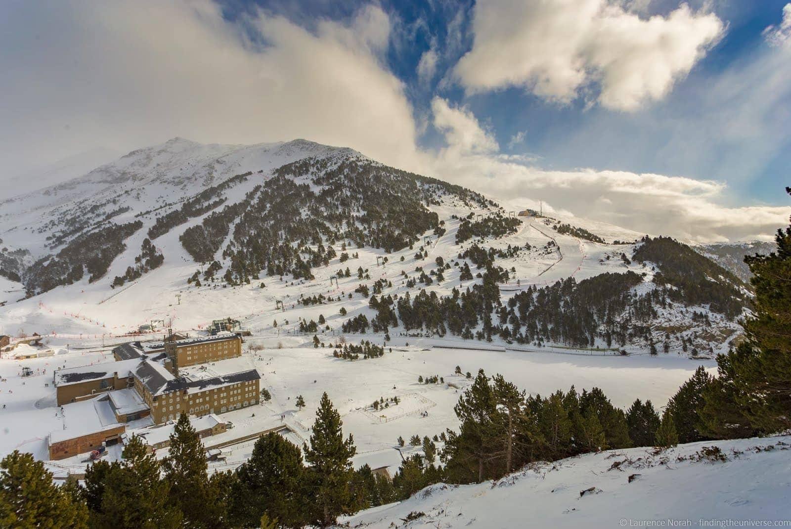 Skiing in Spain - Val de Nuria Ski Resort Pyrenees_by_Laurence Norah