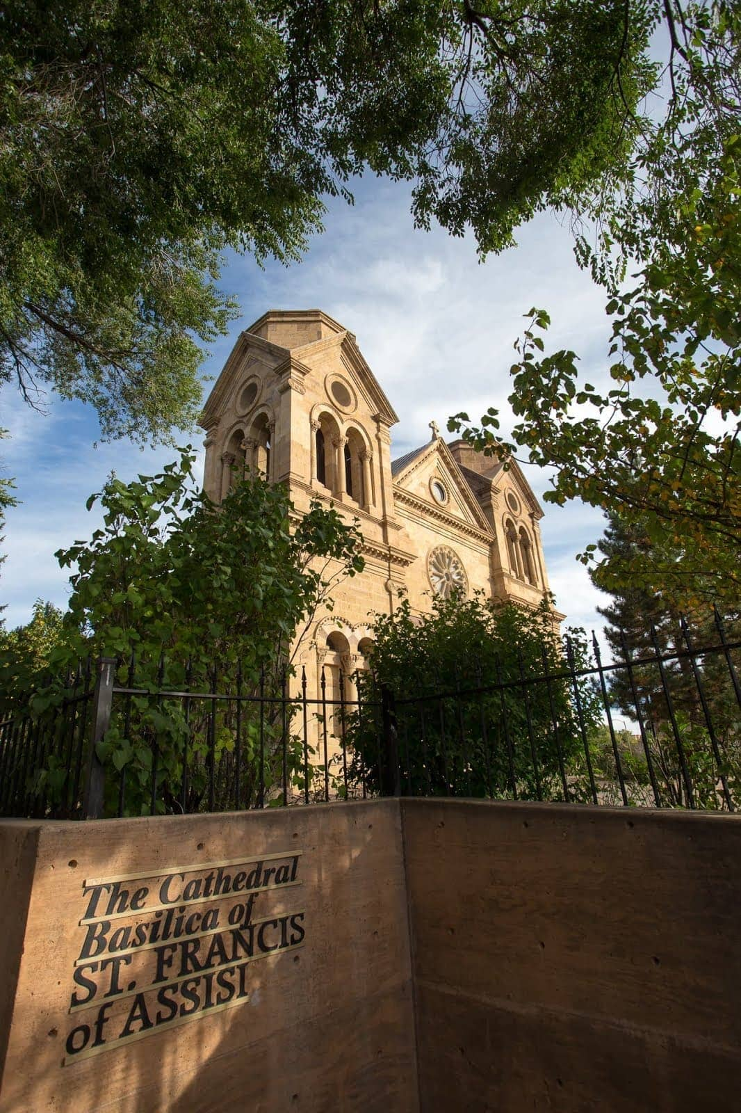Things to do in Santa Fe New Mexico - Cathedral Basilica of St Francis of Assisi Santa Fe New Mexico by Laurence Norah-3
