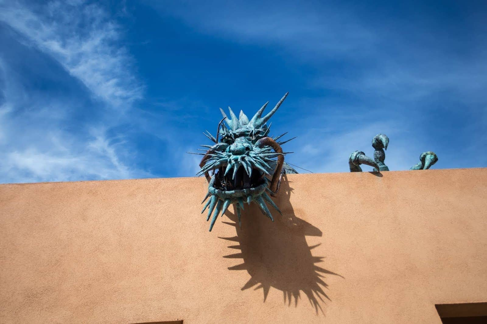 Dragon Santa Fe New Mexico by Laurence Norah