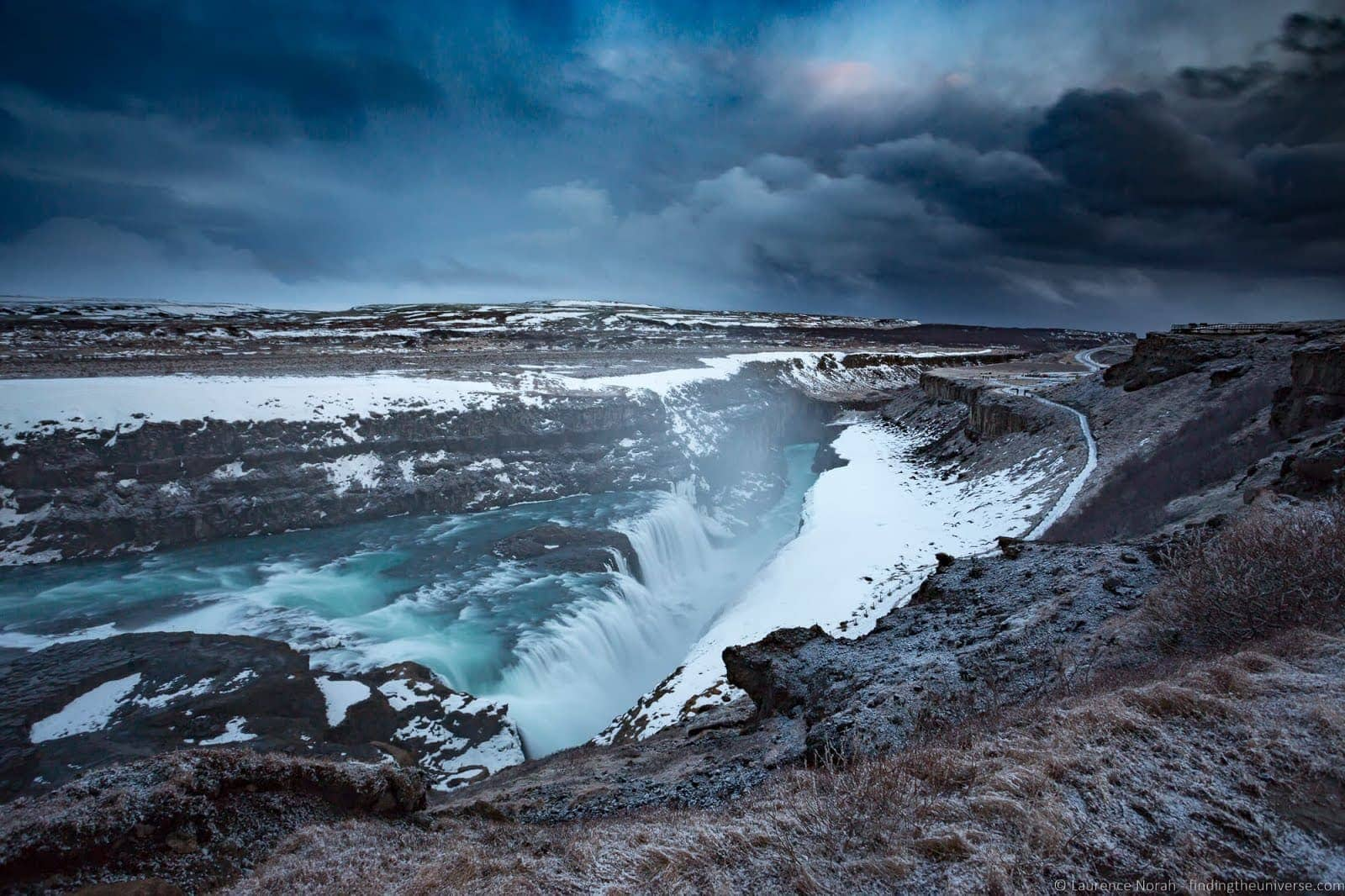 Gullfoss waterfall Iceland_by_Laurence Norah-3