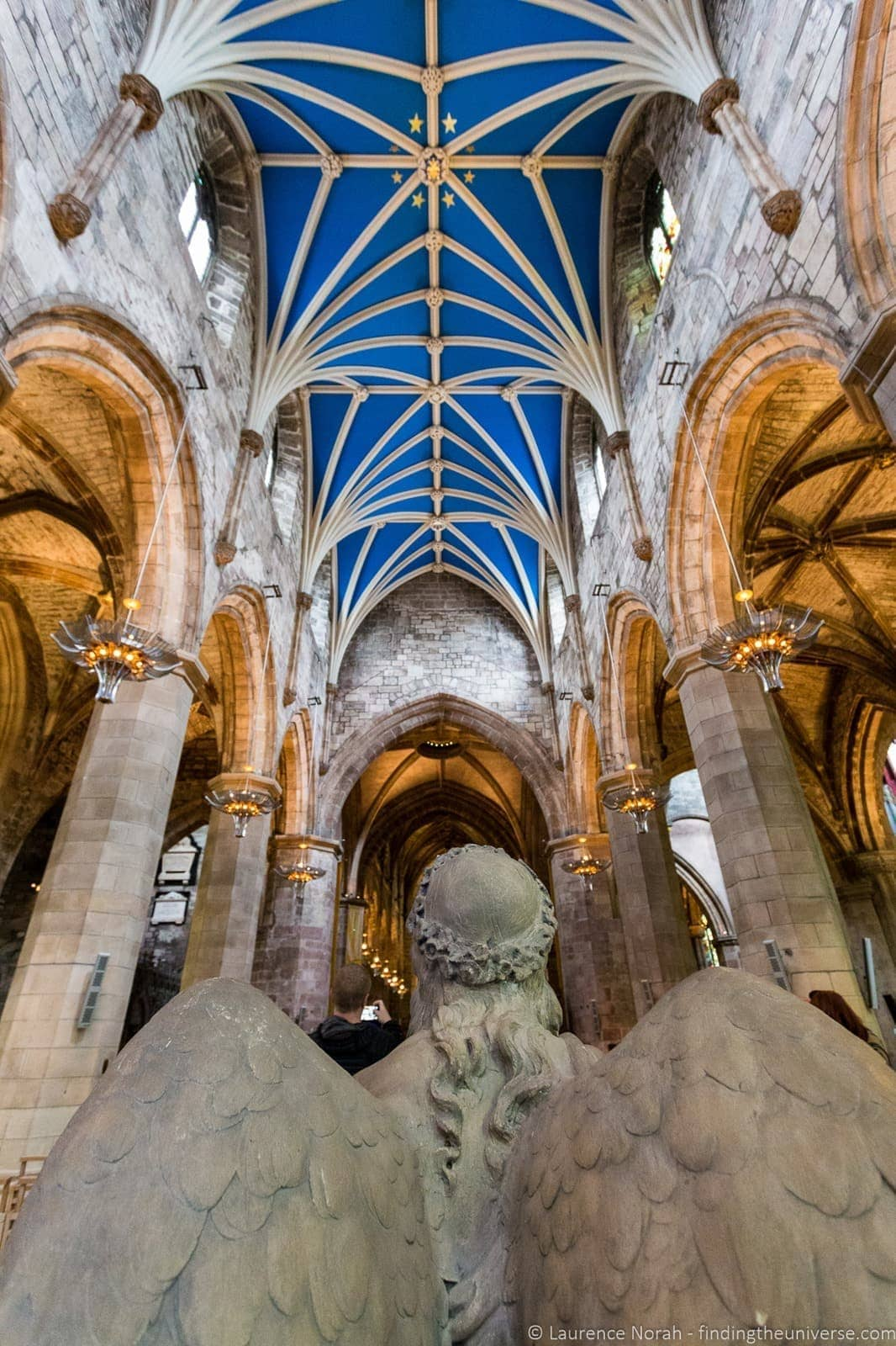 Interior St Giles Cathedral Edinburgh