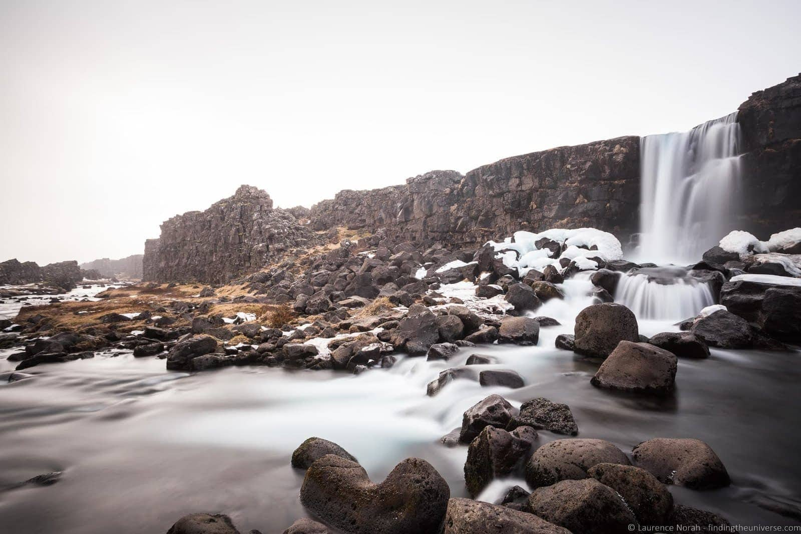 Oxararfoss Watefall %25C3%259Eingvellir National Park Iceland_by_Laurence Norah-2